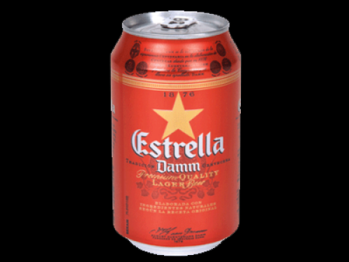 Cerveza Estrella (33cl)