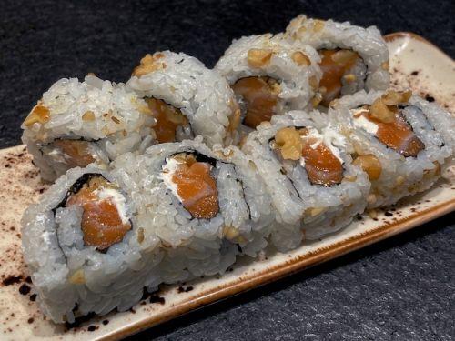 salmon queso nueces
