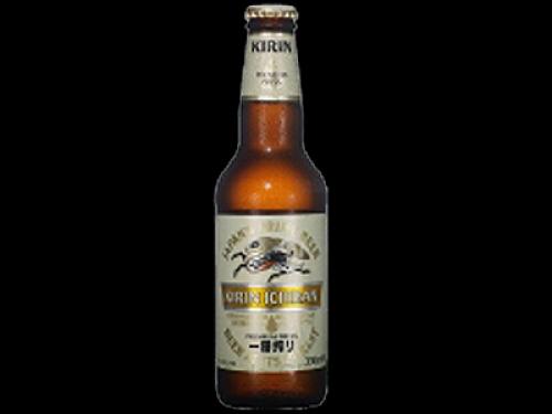 Cerveza japonesa Kirin (botella 33cl)