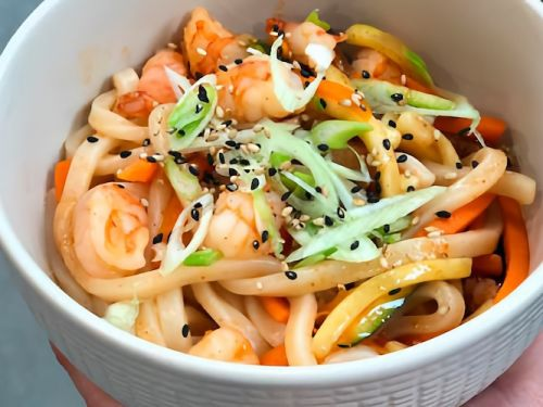 spicy udon langostino