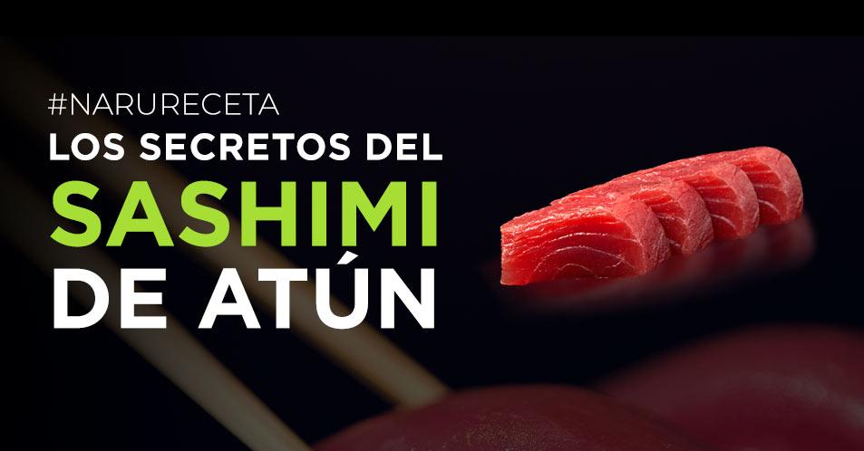 Receta sashimi de atún