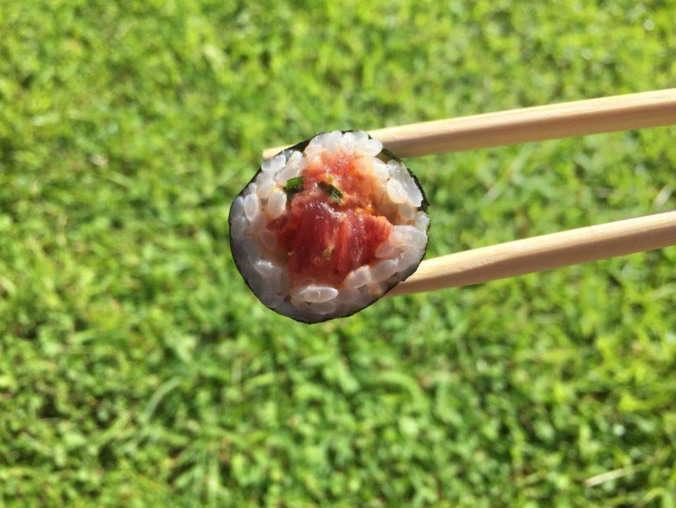 Sushi, comida saludable